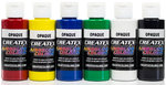 6x 60ml Createx Airbrush Farben Opak Set Basis