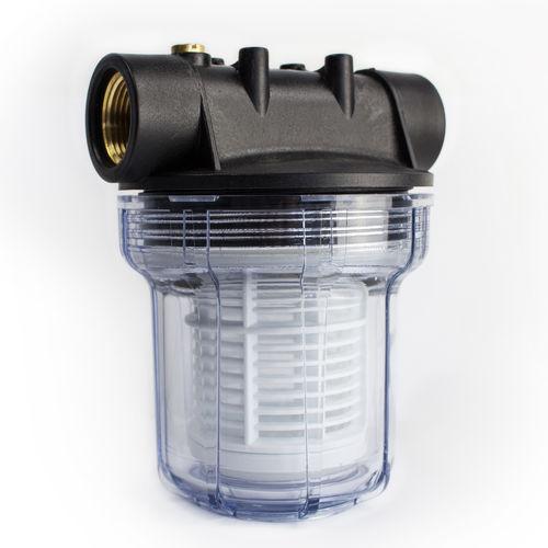 Turbo AWM 1L Vorfilter 3000 l/h Wasserfilter Hauswasserwerk Pumpenfilter IG96