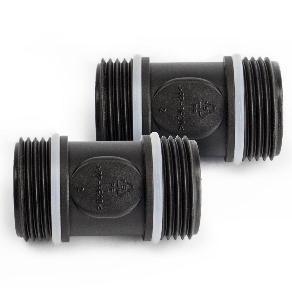 Gut gemocht AWM 2L Vorfilter 3000 l/h Wasserfilter Hauswasserwerk Pumpenfilter MJ12